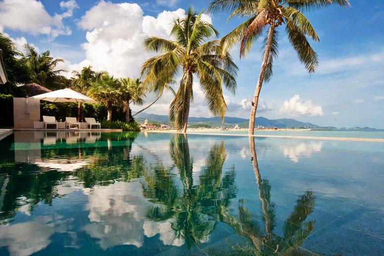 Villa 192 - Luxury Beach Front (3 Bedroom Option) - Image 1 - Plai Laem - rentals