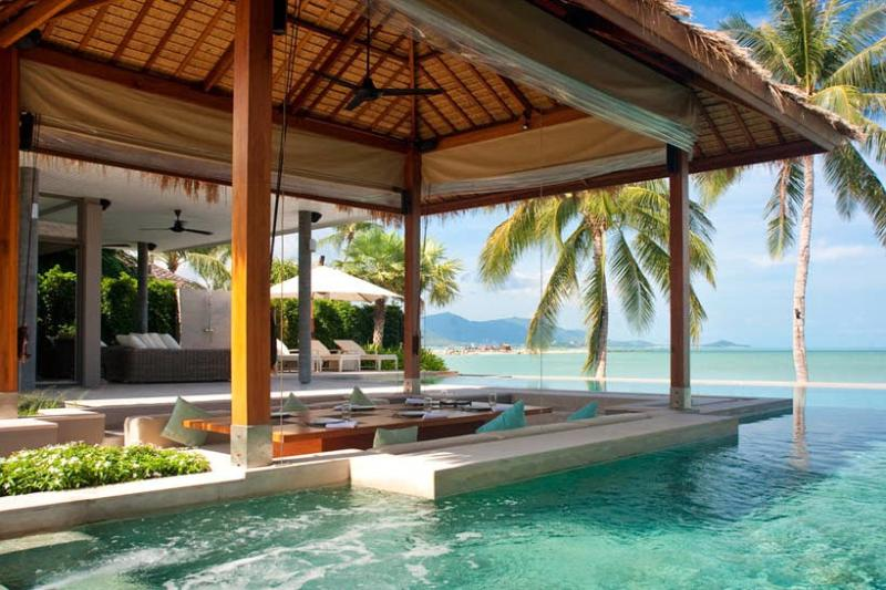 Villa 192 - Luxury Beach Front (5 Bedroom Option) - Image 1 - Plai Laem - rentals