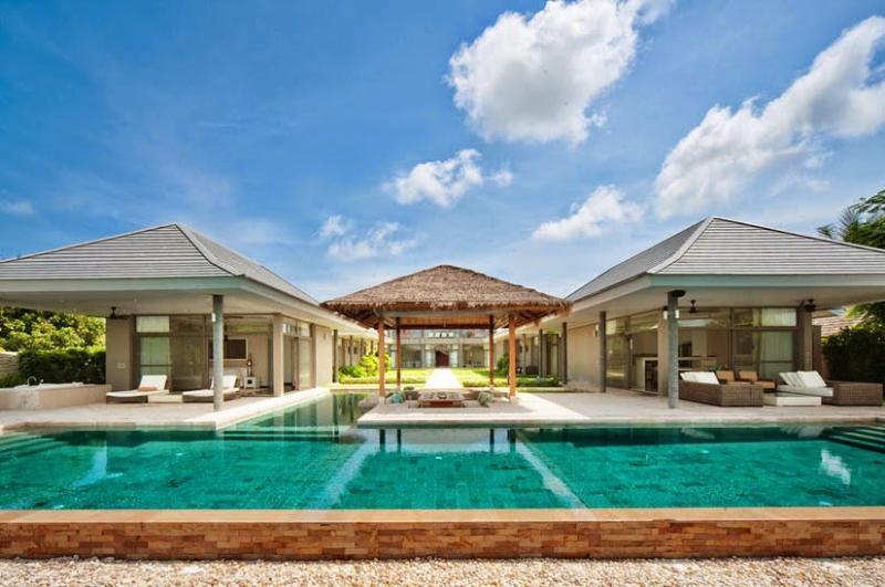 Villa 192 - Luxury Beach Front  (4 Bedroom Option) - Image 1 - Plai Laem - rentals