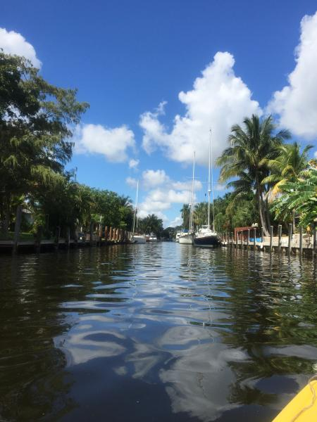 Direct waterway access. Dock your boat - Waterfront House With a Breezy Back Yard ! - Fort Lauderdale - rentals
