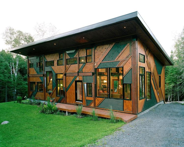 Amazing Sculptural Cottage Val-David, Quebec - Image 1 - Val David - rentals