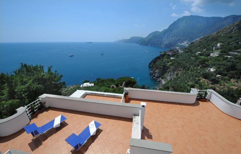 Villa Valeria,sea view,terraces and garden - Image 1 - Positano - rentals