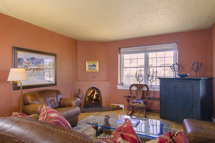 Living Room Entry  - Adobe Destinations - Casa del Buen Espiritu - Santa Fe - rentals