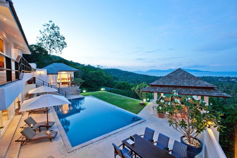 Samui Island Villas - Villa 129 Fantastic Sea View - Image 1 - Bophut - rentals