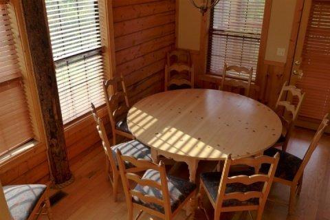 Loft View of the Dining Room - 5 Bedroom Luxury Cabin in Branson - Branson - rentals
