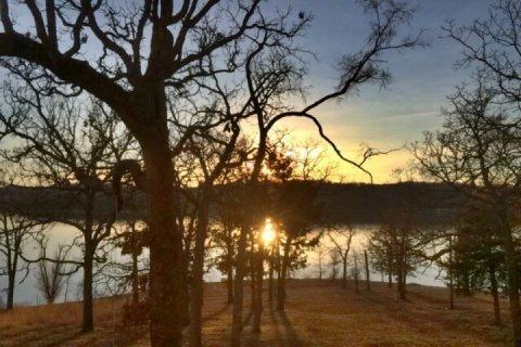 Sunset from your back deck. - Indian Point 3 King Bedrooms Condo - Branson - rentals
