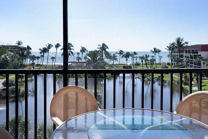 VIEW FROM UNIT - Pointe Santo C44 - Sanibel Island - rentals
