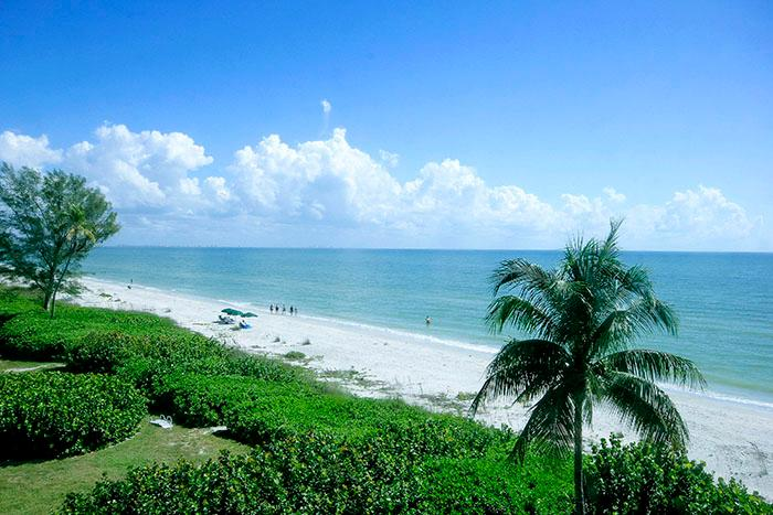 VIEW FROM UNIT - Island Beach Club P1D - Sanibel Island - rentals