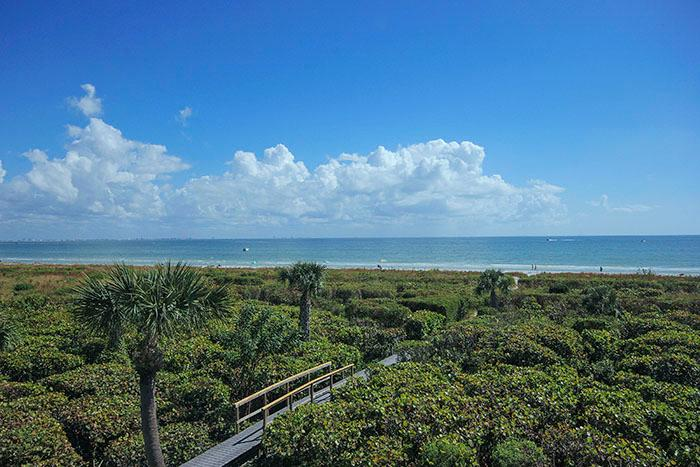 VIEW FROM UNIT - Cyprina Beach - Sanibel Island - rentals