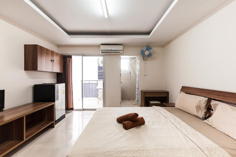The Bedroom - Nice comfy Studio 24 - Bangkok - rentals