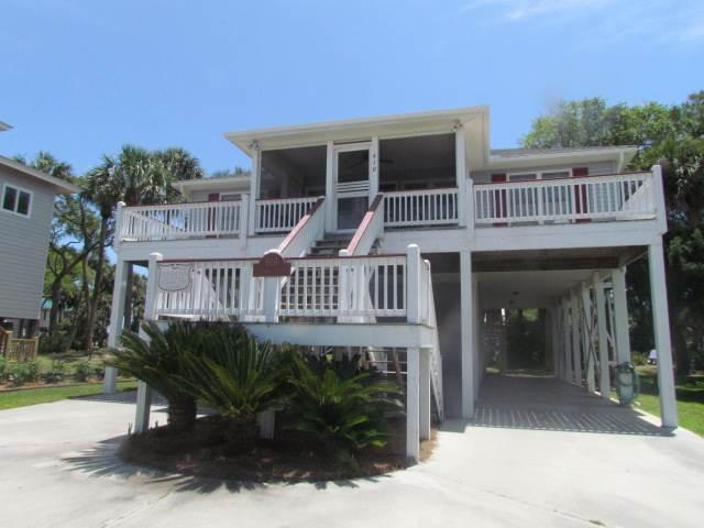 "610 Pompano St - ""Ellis House"" - Image 1 - Edisto Beach - rentals"