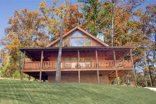 Exterior View at Paws N' Claws - PAWS N' CLAWS - Gatlinburg - rentals