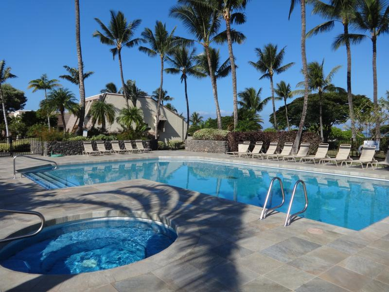 Newly remodeled main pool is just steps from the condo for your relaxing dip or soaking up some sun - Newly Reduced Sale Prices for Upgraded 2 Bedroom Poolview Maui Kamaole condo - Kihei - rentals
