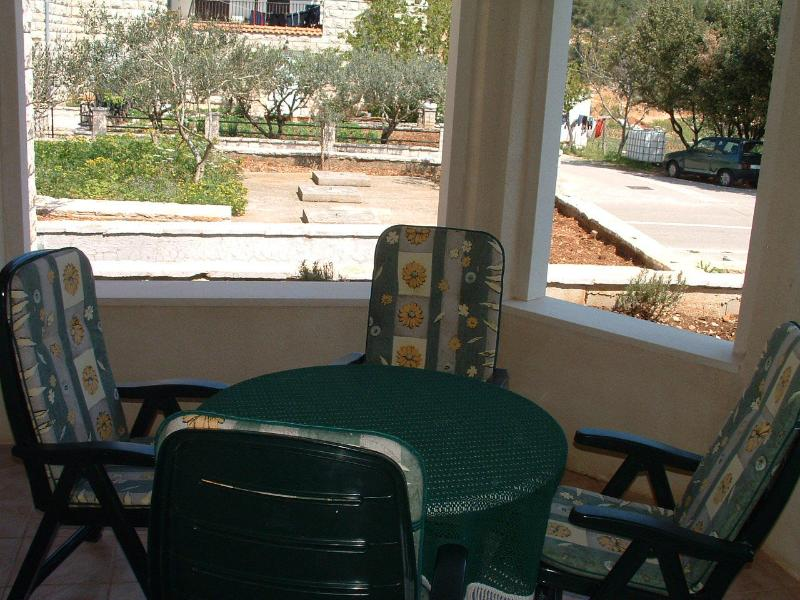 A1(2): terrace - 00101PUCI A1(2) - Pucisca - Pucisca - rentals