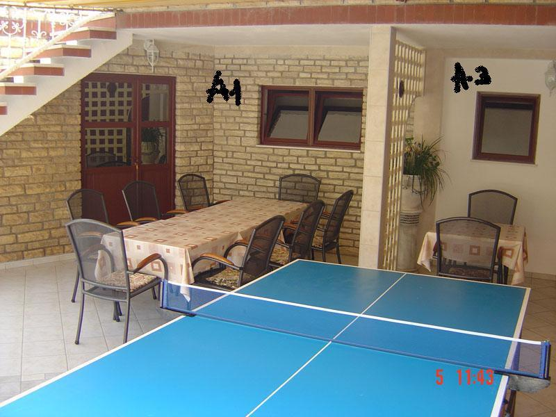 A1(7): common terrace - 00218SUKO  A1(7) - Sukosan - Sukosan - rentals