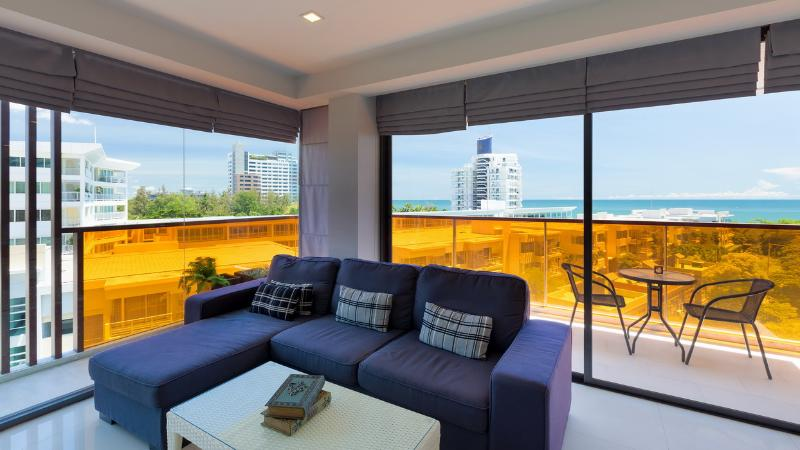 Sea-view Studio/1BR -200m from Beach : Rocco Condo - Image 1 - Hua Hin - rentals