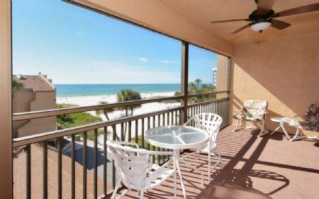 View from Breezy, Screened-In Lanai - Buttonwood 447 - Sarasota - rentals