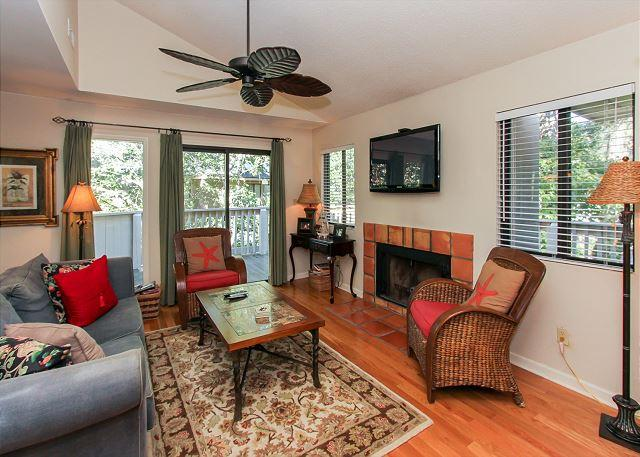 Living Area - Within earshot of the rolling surf - Hilton Head - rentals