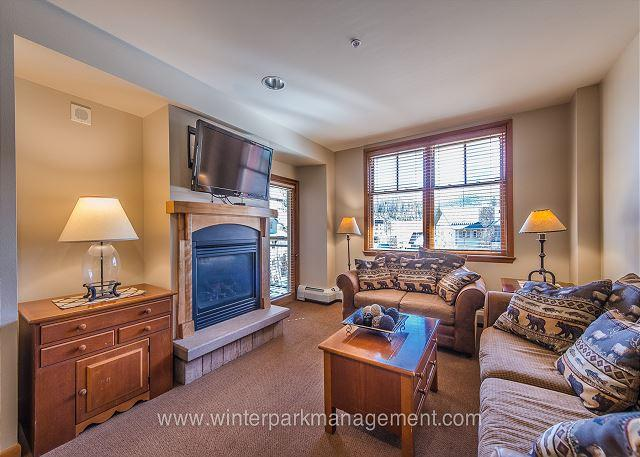 Ski in Ski out slopeside two bedroom at the Zephyr Mountain Lodge. Sleeps 8!! - Image 1 - Winter Park - rentals