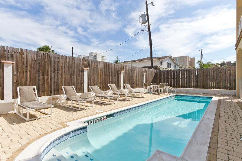 Community pool - 130 E Campeche #4 - South Padre Island - rentals
