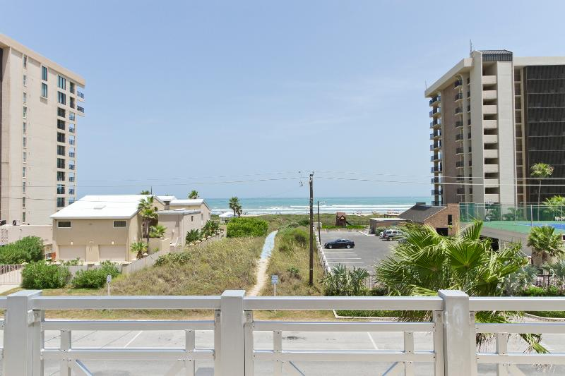Ocean views from balcony - 2801-C Gulf Blvd - South Padre Island - rentals