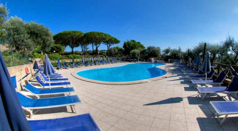01 La Noce shared pool area - LA NOCE - Massa Lubrense - Sorrento area - Massa Lubrense - rentals