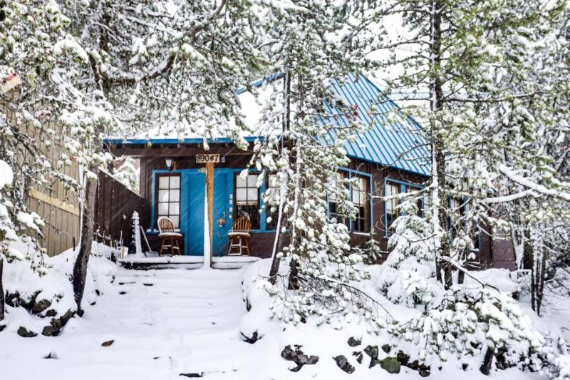 Rustic and serene cabin w/ great home essentials, close to skiing! - Image 1 - Government Camp - rentals