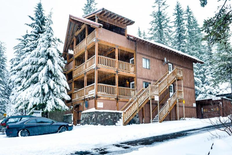 Spacious, dog-friendly lodge with a private sauna - close to 3 ski resorts! - Image 1 - Government Camp - rentals