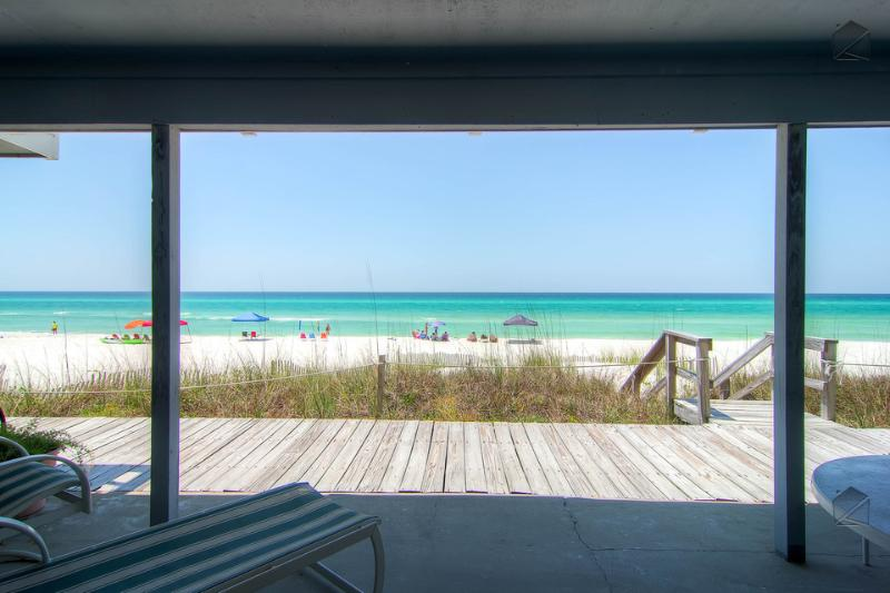 Beautiful Oceanfront townhouse on quiet beach a short drive to Rosemary Beach - Surfer's Paradise (Beachfront) - Image 1 - Inlet Beach - rentals