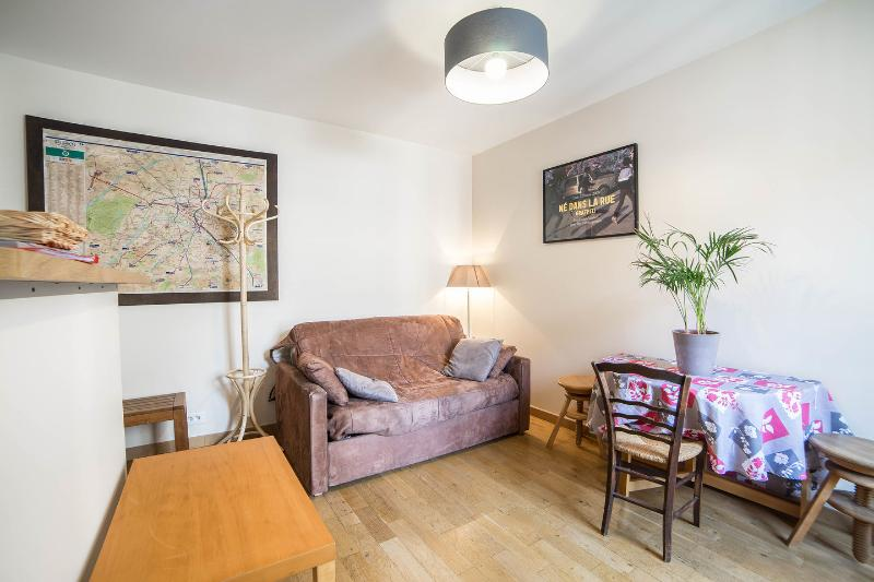 Living Room - Quiet Apartment in Paris Near the Subway - Paris - rentals