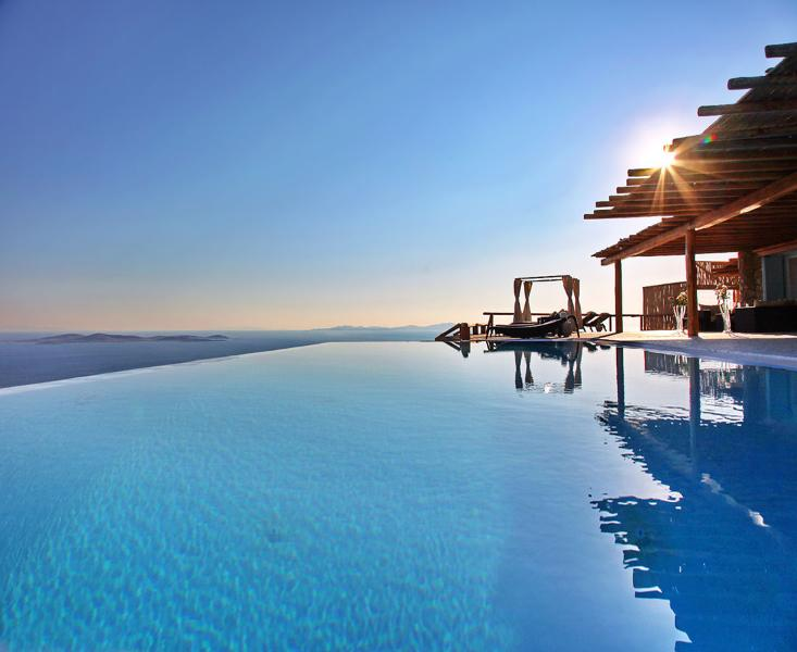 Greek Villas Mykonos - The  One and Only Villa with Pool  and 7 bedrooms to - Image 1 - Mykonos - rentals