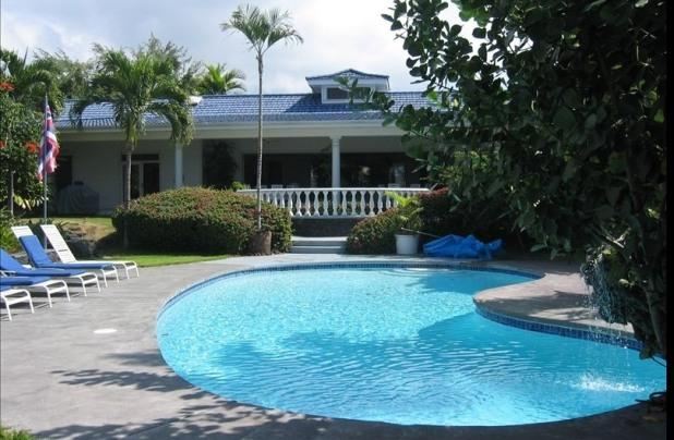 Private pool - Oceantop Villa- Luxury for 18  Guests!! - Kailua-Kona - rentals