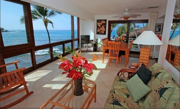 Oceanfront Shangrila- Private Ocean Oasis, Pool! - Image 1 - Kailua-Kona - rentals
