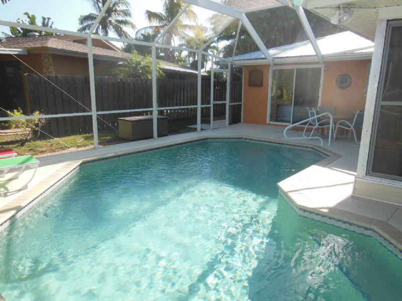 Pool heated to 86 degrees - Waterfront Pool Home Close to the Beach - Fort Myers Beach - rentals
