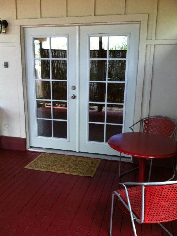 French Door Entry     - PRIVATE APARTMENT FOR 2  GREAT LOCATION-AMMENITIES - Waikoloa - rentals