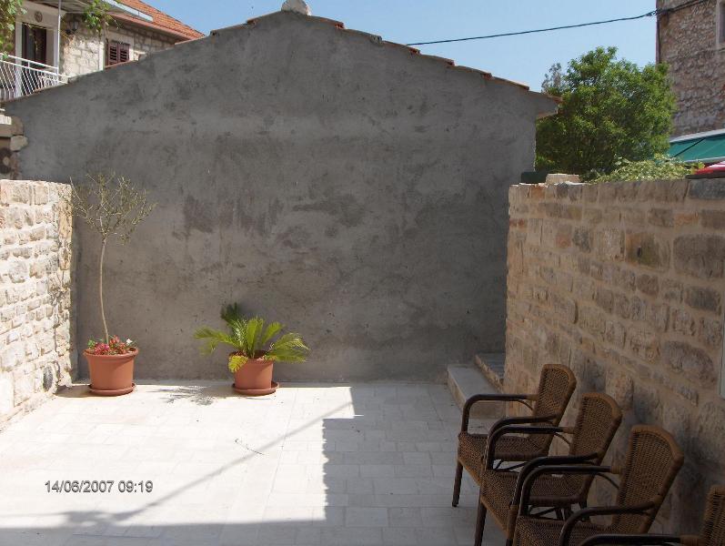 A1(2+2): terrace - 0103VRBO A1(2+2) - Vrboska - Vrboska - rentals