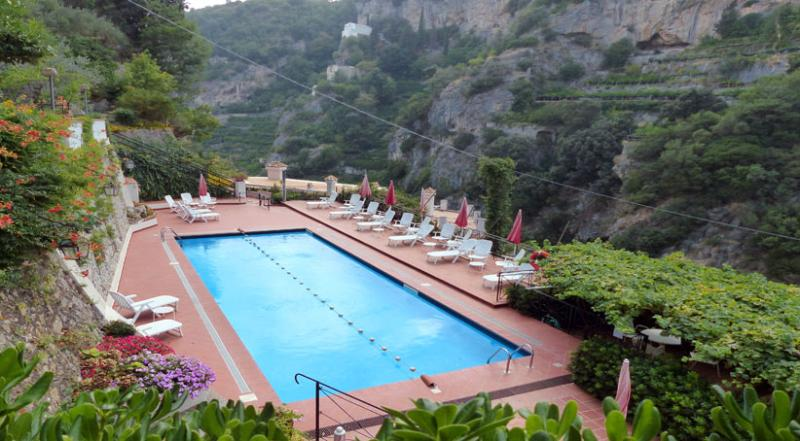 01 Ciclamino shared pool area - CICLAMINO Ravello/Atrani - Amalfi Coast - Ravello - rentals