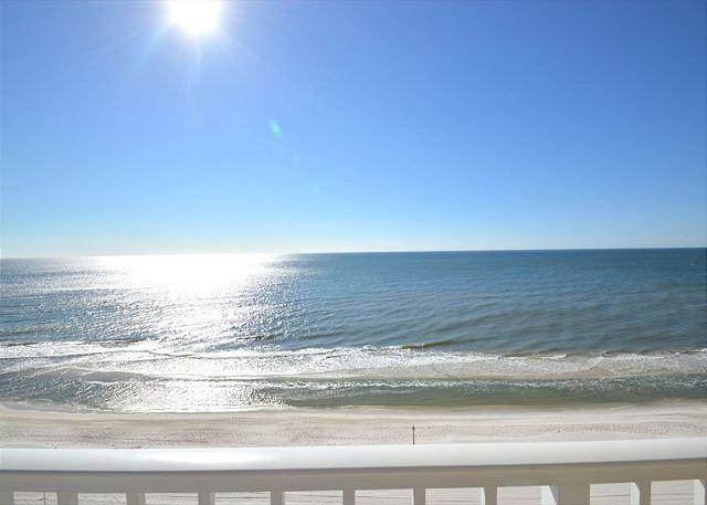 Balcony View - East Corner Condo Nice Views ~ Bender Vacation Rentals - Gulf Shores - rentals