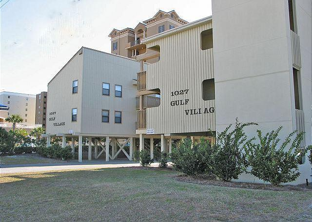 Gulf Village View from Street - All Bedrooms with Balcony Views~Bender Vacation Rentals - Gulf Shores - rentals
