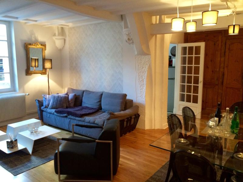 A CHIC 2/3 bedroom 2 bathroom, outdoor area. - Image 1 - Dijon - rentals