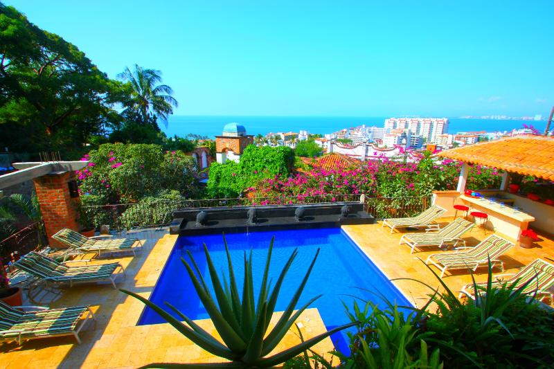 4 to 9 Bdrm Villa Excellent Location,Full Staff - Image 1 - Puerto Vallarta - rentals