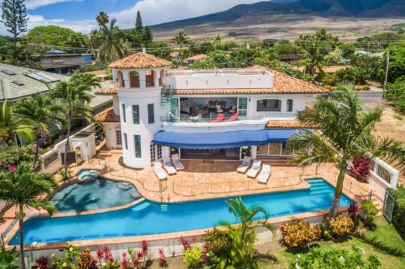 Beachfront Villa in Lahaina for your next Hawaiian holiday - Lahaina Maui Large Villa-home rental - Lahaina - rentals