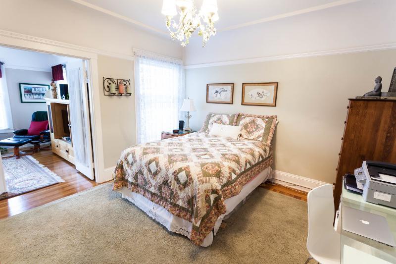 The Master Bedroom - Prime Marina Location 1 BR Furnished Apt - San Francisco - rentals