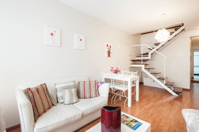 Living Room - Dining Room - Duplex Beruti -Recoleta - Buenos Aires - rentals