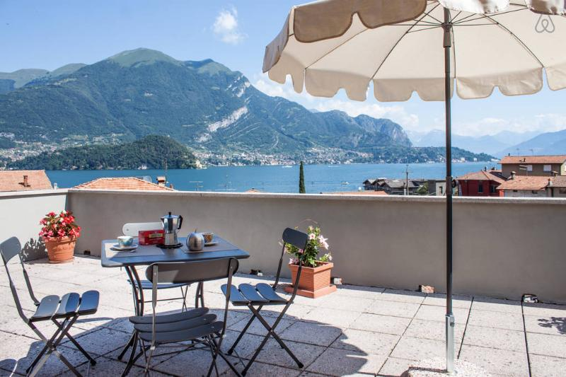 The Terrace on lake Como! - Image 1 - Lezzeno - rentals