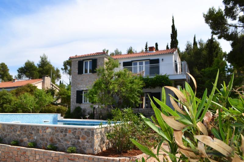 Pool house Julije - Image 1 - Sutivan - rentals