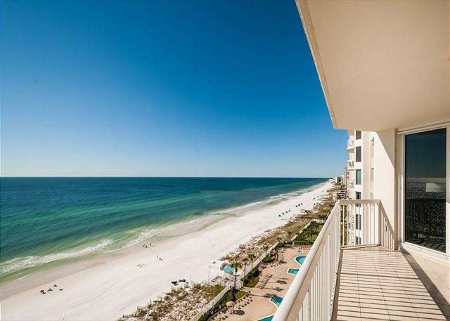 View From Private Balcony - Silver Beach Towers 1102E w/ Free Bch Svc & Parasailing! - Destin - rentals