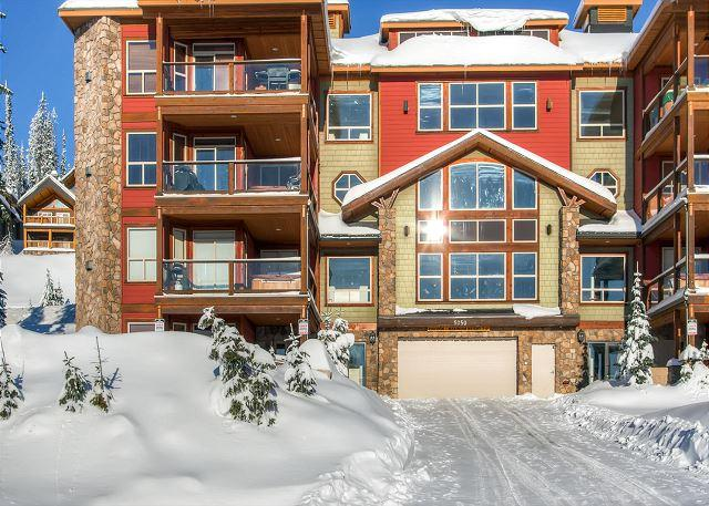 Snowbird Lodge 406 - Snowbird Lodge 406 Happy Valley Location in Big White Ski Resort Sleeps 7 - Big White - rentals