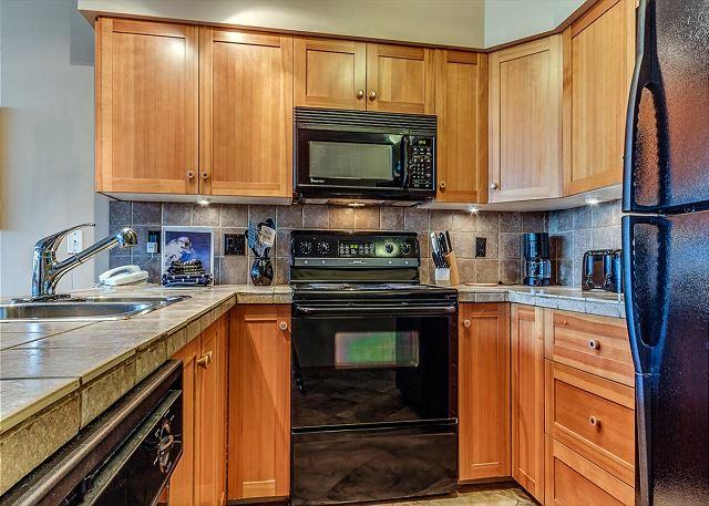 Upgraded Kitchen - Acer Vacations | Ski-in Ski-Out 2 Bedroom Vacation Condo on Blackcomb - Whistler - rentals