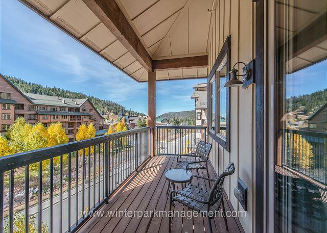 Walk to the slopes. 2 bedroom condo @ Fraser Crossing - Image 1 - Winter Park - rentals